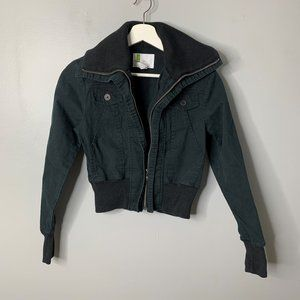 Urban Outfitters Black Twill Jacket